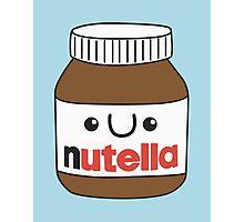 Kawaii Nutella Photographic Print
