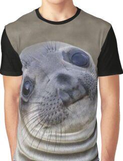 Awkward Seal Graphic T-Shirt