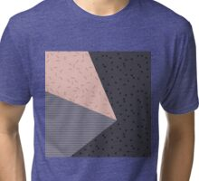 Geometry Blocks 8 Tri-blend T-Shirt