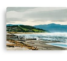 Pacific City Oregon Coast Canvas Print