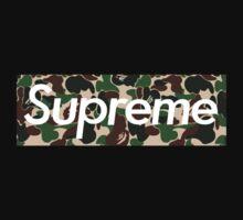 Supreme x Bape Camo by jackyboi