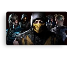 Mortal Kombat X Canvas Print