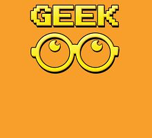 Cartoon GEEK Pixels Glasses T Shirt Unisex T-Shirt