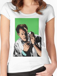 Vincent Price - The Tingler Print Women's Fitted Scoop T-Shirt