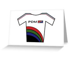 Retro Jerseys Collection - PDM Greeting Card