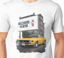 1970 Ford Mustang Boss 429 Day Unisex T-Shirt