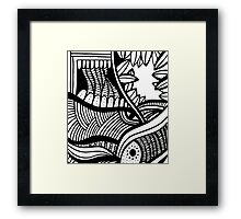 abstract design Framed Print