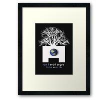 arteology earth base 2 Framed Print