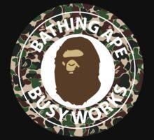 Bape Bathing Ape T-shirt by jackyboi