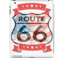 route 66 logo  iPad Case/Skin