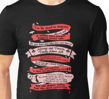 The Originals Quotes Tee. Unisex T-Shirt