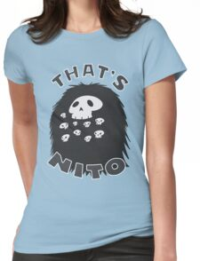 That's Nito (colored text!) Womens Fitted T-Shirt