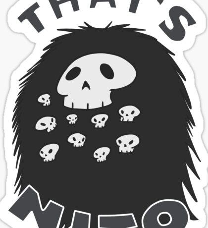 That's Nito (colored text!) Sticker