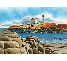 New England Lighthouse Photographic Print