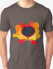 Orange-yellow folk flower Unisex T-Shirt