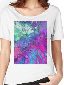 Abstract 40 Women's Relaxed Fit T-Shirt
