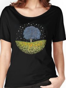 Starry Night Sky Women's Relaxed Fit T-Shirt
