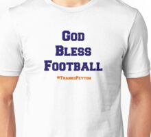 God Bless Football Unisex T-Shirt