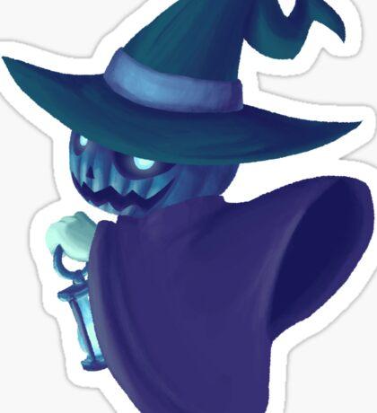 Lantern in the Woods Sticker