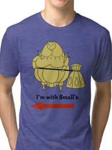 I'm with small's Tri-blend T-Shirt