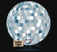 Character Building - Won't you take me to, Funky Town One Piece - Short Sleeve