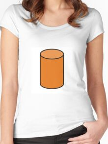 haha long boy Women's Fitted Scoop T-Shirt