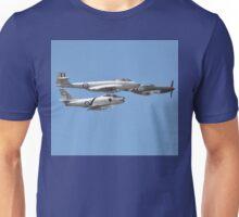 Korean War Flypast, Point Cook Airshow, Australia 2014 Unisex T-Shirt