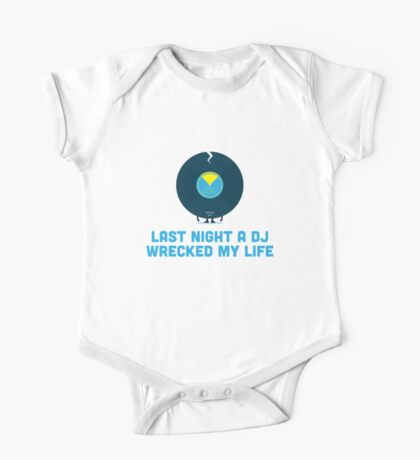 Character Building - A DJ Wrecked my Life Kids Clothes