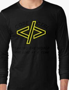 Codegirl Long Sleeve T-Shirt