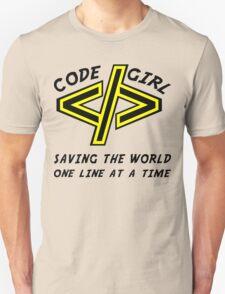 Codegirl Unisex T-Shirt