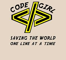 Codegirl Womens Fitted T-Shirt