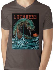 Lochness Mens V-Neck T-Shirt