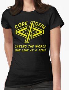 Codegirl Womens Fitted T-Shirt