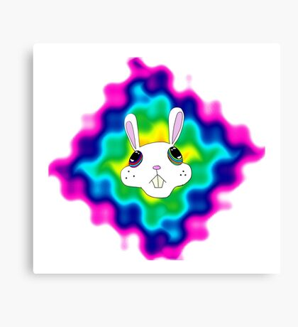 Drugs Bunny Canvas Print