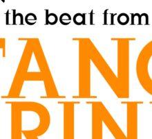 Dancing Tangerine Sticker