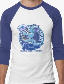 Bunny the Nerdorina Men's Baseball ¾ T-Shirt