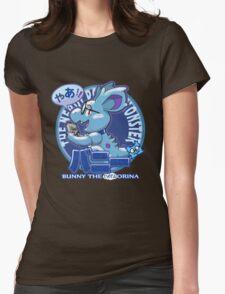 Bunny the Nerdorina Womens Fitted T-Shirt