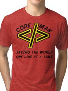 Codeman Tri-blend T-Shirt