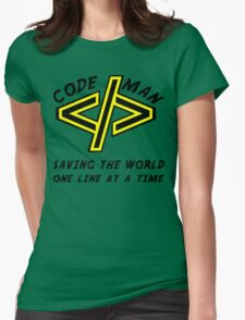 Codeman Womens Fitted T-Shirt