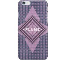 Flume - quadri font iPhone Case/Skin