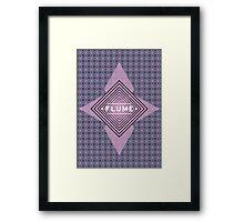 Flume - quadri font Framed Print