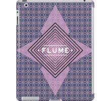 Flume - quadri font iPad Case/Skin