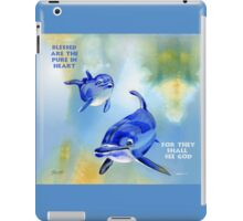 Blessed Are The Pure In Heart iPad Case/Skin
