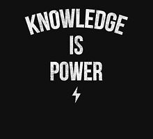 Knowledge is Power (Slogan) Unisex T-Shirt