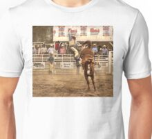 Rodeo Cowboy is Thrown from his Horse Unisex T-Shirt