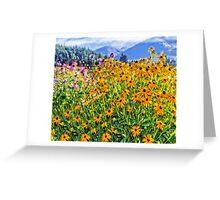 Hood River - Walk Into My Flower Garden Greeting Card