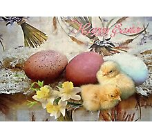 Easter decorations Photographic Print