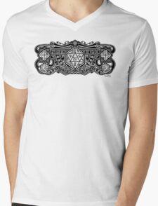 Dice Deco D20 Mens V-Neck T-Shirt