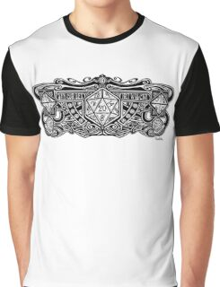 Dice Deco D20 Graphic T-Shirt