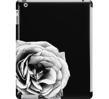 Black & White Rose iPad Case/Skin